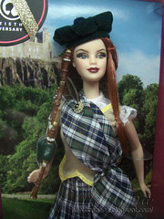 Scotland Barbie 2009