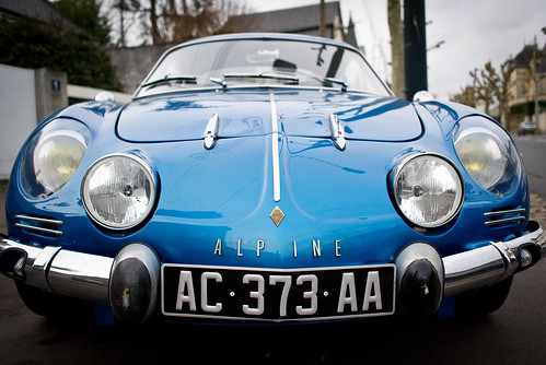 Car face Alpine