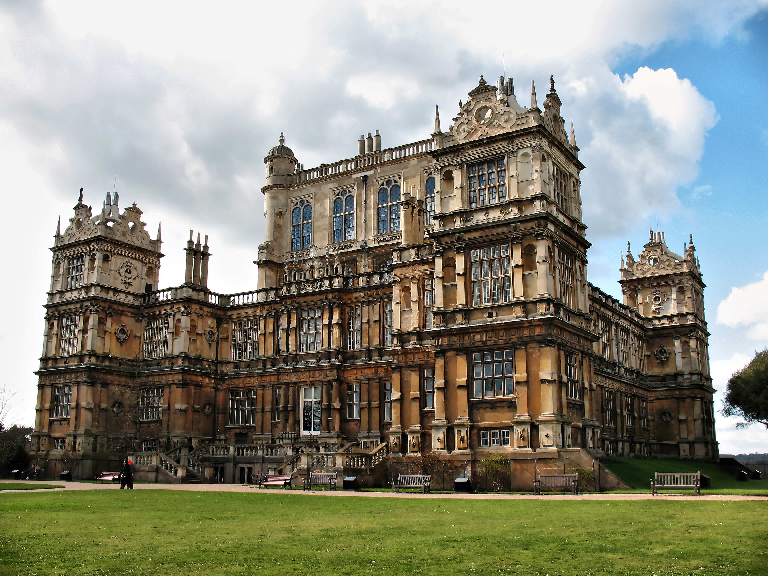 Wollaton Hall South Front Flickr Photo Sharing