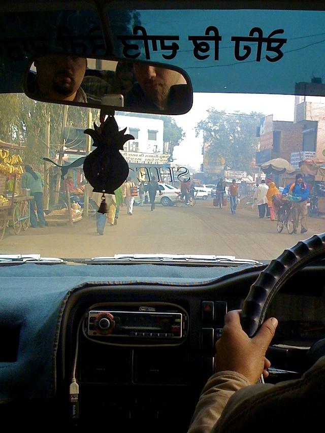 Driving to Bathinda
