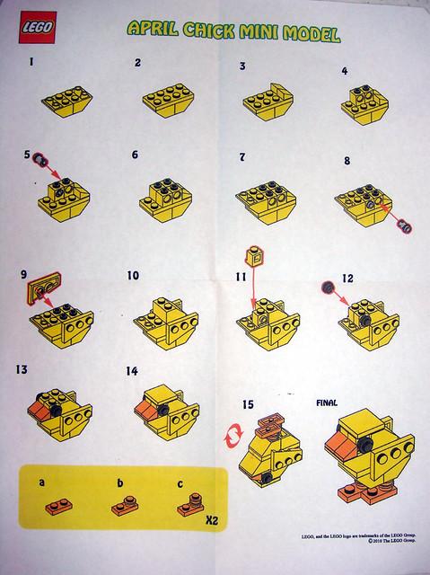 Weekly Calendar Javascript : Lego store mmmb april  chick instructions