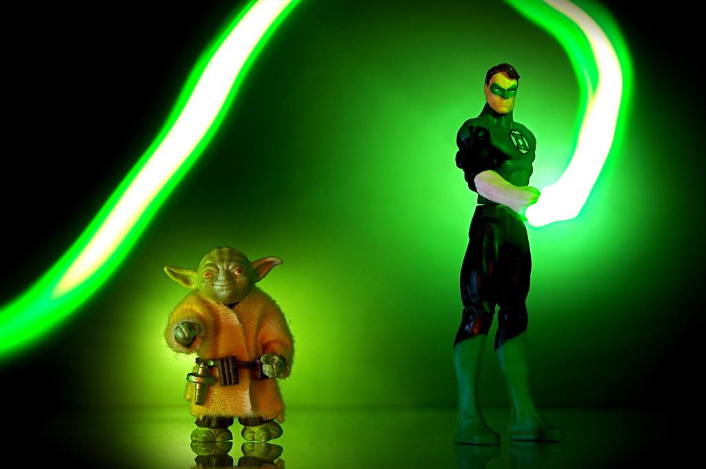 Yoda vs. Green Lantern (101/365)