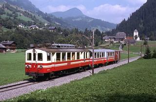 Trains Aigle Sepey Diablerets (Suisse)