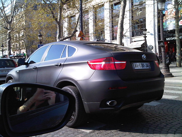 Bmw X6 Black Matte Ugly Car Beautiful Paint Job Flickr