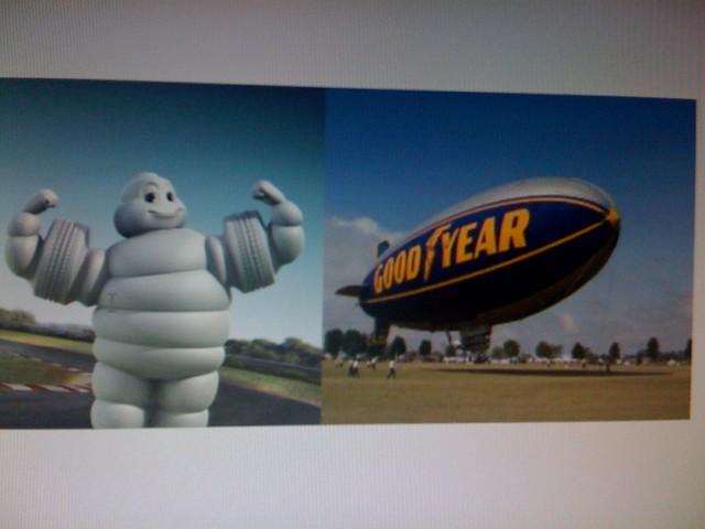 Michelin Goodyear Man