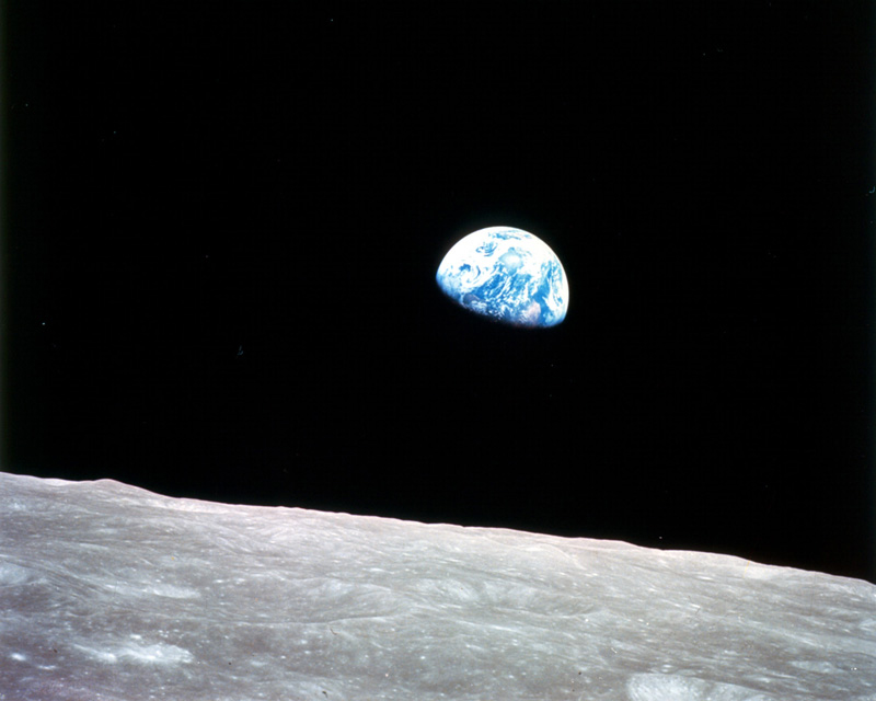 Earthrise by NASA