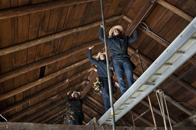 100 Year Old Barn Restoration At Fallingwater Flickr