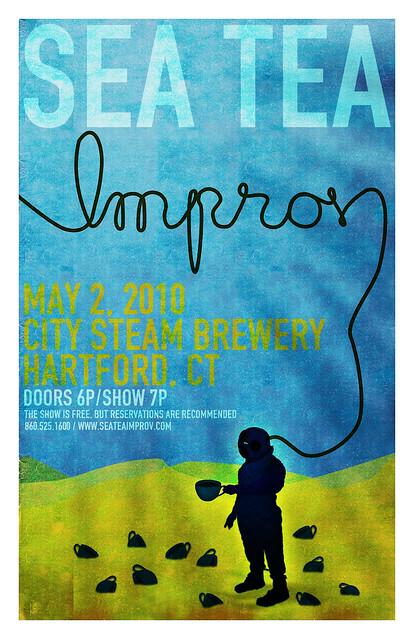 Sea Tea Improv May 2 Poster