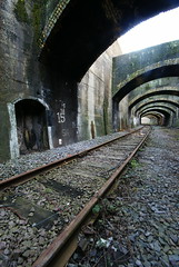 Connaught Railway tunnel, Silvertown.
