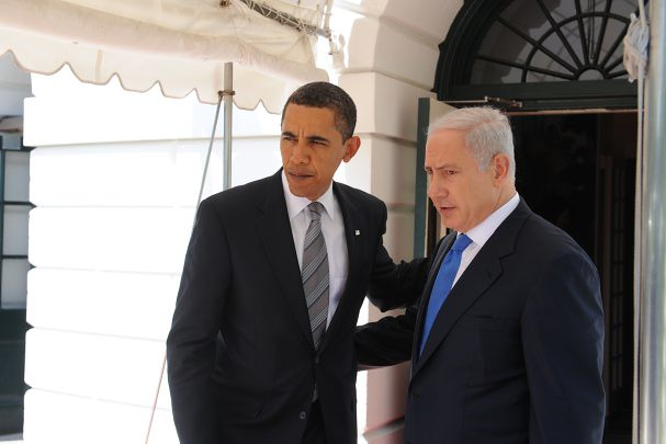 Obama Greets Netanyahu with Notable Interview