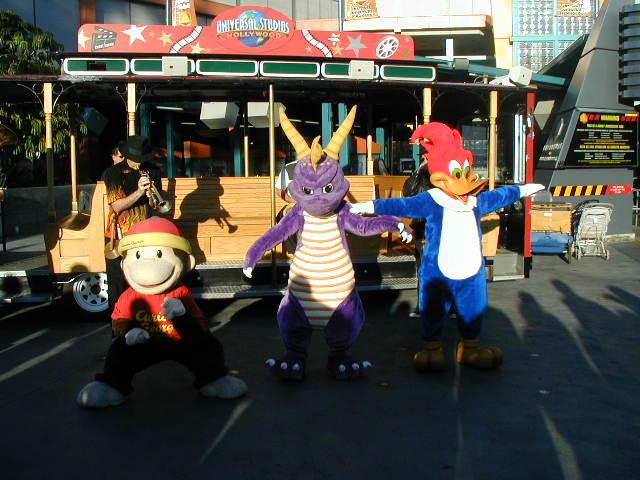 Cartoon Characters Universal Studios : Universal studios hollywood backlot tour a photo on