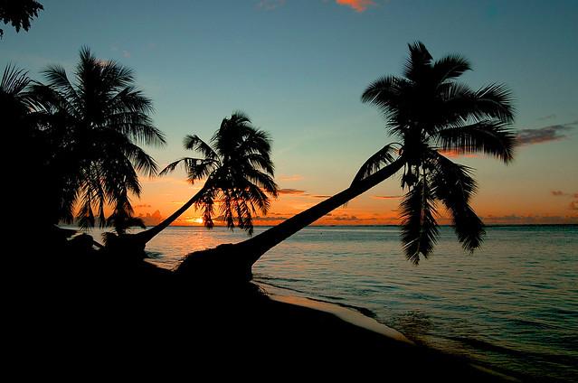 Another Samoan sunset