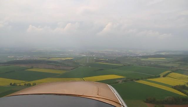 Landung Piste 31
