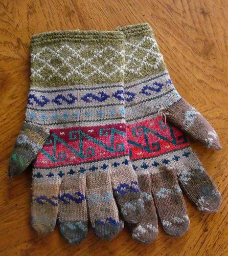 Türkische Handschuhe