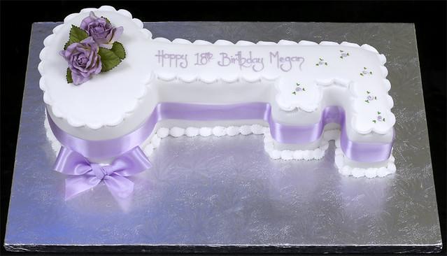 Key Cake Designs For 21st Birthday : 002605 Key Shaped Birthday Cake Flickr - Photo Sharing!