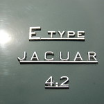 Jaguar E-Type 4.2 at Samuel