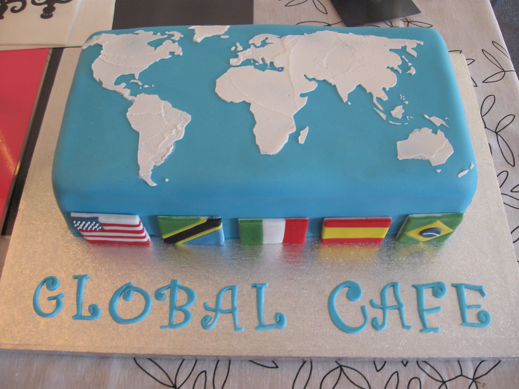 Thatcutelittlecakes most recent flickr photos picssr world map cake gumiabroncs Gallery
