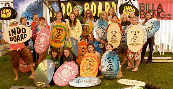 Indo Board enthusiasts in England