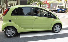 automobile, mitsubishi i miev, mitsubishi i, supermini, vehicle, mitsubishi, city car, land vehicle,