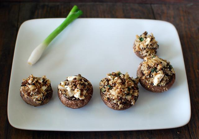 Crumbled Feta Stuffed Mushrooms | Explore crd!'s photos on F ...