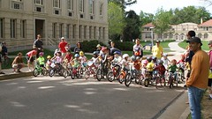 Fort Collins Velodrome Association bicycle races @ CSU Oval