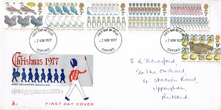 23-Nov-1977 UK First Day Cover