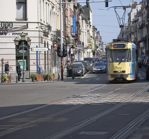 Brussels - The 92 Tram by infomatique