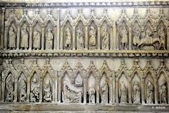 Sculptures de la Chapelle St-François - Cathédrale de Coutances - Manche - Basse Normandie