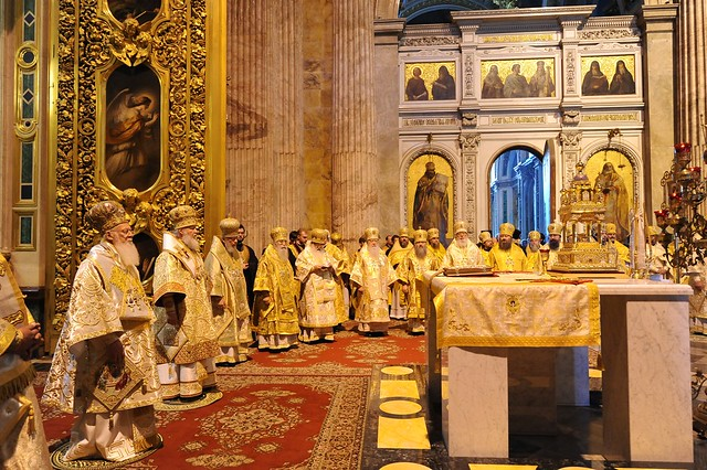 Divine Liturgy at St. Isaac's Cathedral