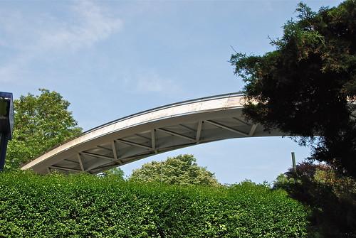 L'arc au dessus des arbres (Brussels)
