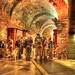 Tunnel at the Western Wall by Serithian