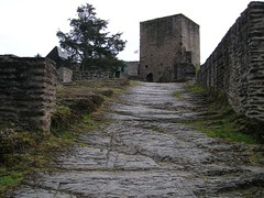 Esch sur Sûre et son château