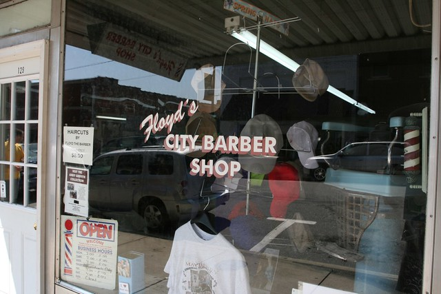 Floyd's City Barber Shop | You can still walk right in and g ...