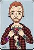 El hombre ilustrado Tp que hice