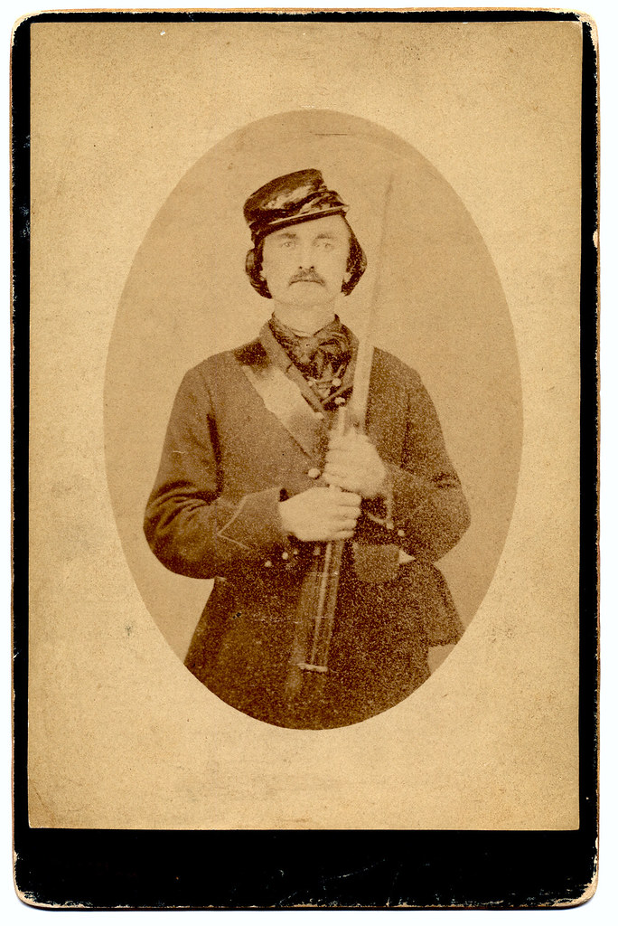 Marion D Stanton Civil War portrait