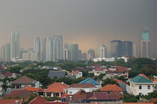 Jakarta storm