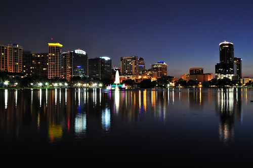 Downtown Orlando After Dark....