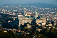 Buda Castle in sunrise