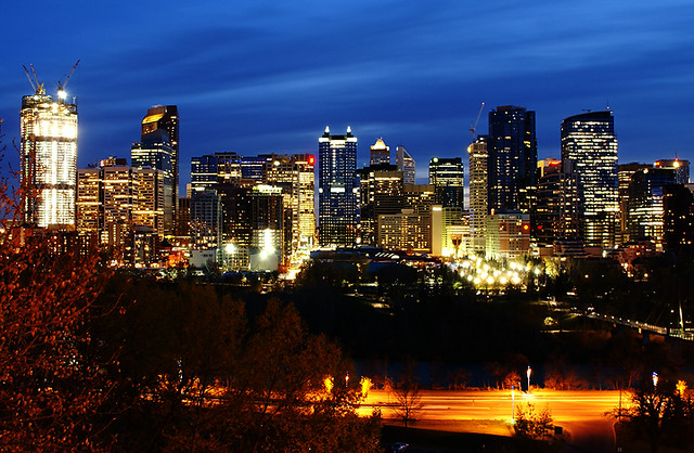 Not according to the city census. Calgary is the largest city in the province of Alberta, with 1,, people on an area of km2/ sq mi; and the fifth-largest census metropolitan.