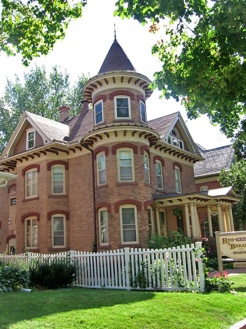 Victorian House With Tower Broadway Decorah Iowa
