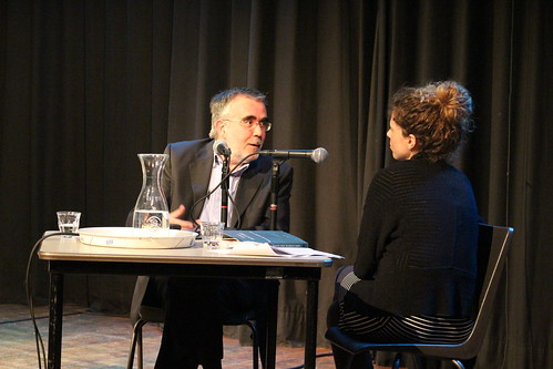 Santiago Montobbio en el Centro de Poesía Perdu en Amsterdam