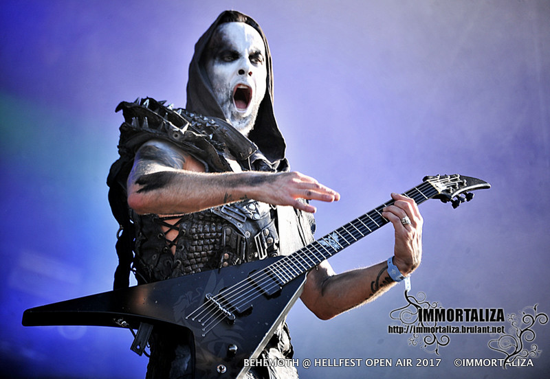 BEHEMOTH @ HELLFEST OPEN AIR  CLISSON FRANCE 17 JUIN 2017 35371175360_b3bb8c7081_c