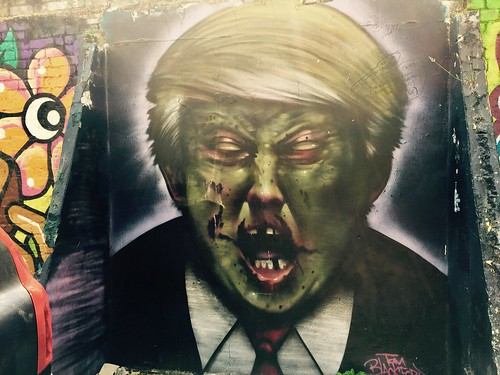 Donald Trump mural (Credits: Matt Brown / FlickR)