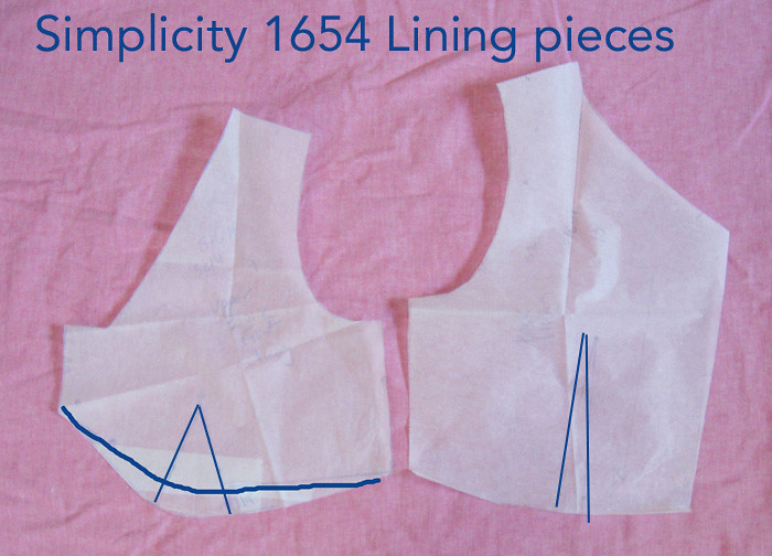 lining pieces S1654