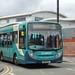 Arriva Cymru 2155 DK15EHL Trinity Street, Wrexham 3 July 2017