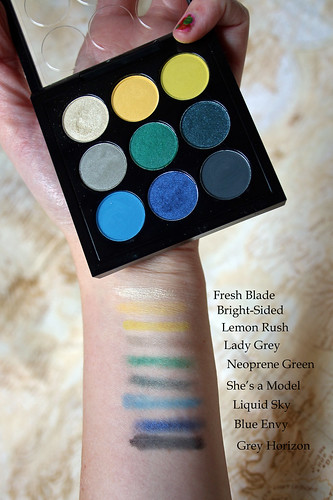 Tropic Cool swatches