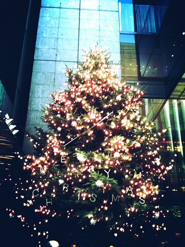 Xmas tree at Ginza