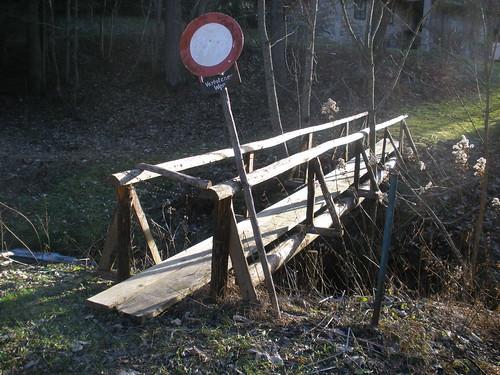 Steiermark, Zwischen (between) Kapellen und Prein, verbotener Weg (forbidden way)