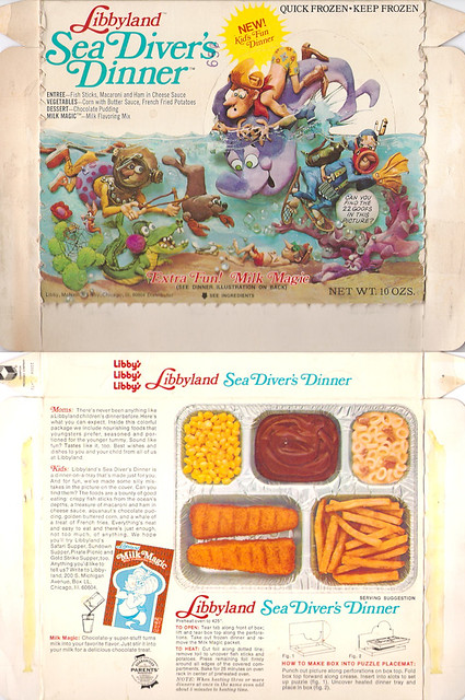 1972 Libbyland Sea Diver's Dinner Box