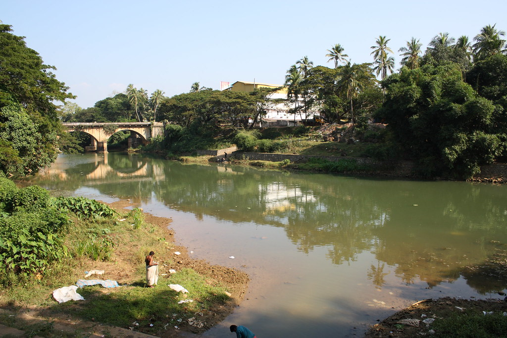 Karamana River, Thiruvananthapuram, Kerala